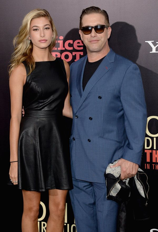 'One Direction: This Is Us' New York Premiere with S. Baldwin and his daughter.