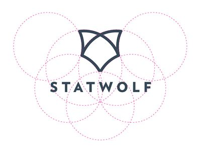 Wolf Logo Design Construction