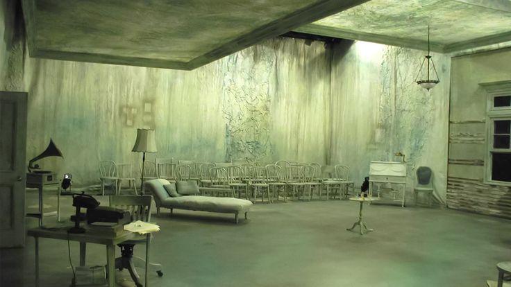 The Glass Menagerie. Black Box Theatre, UCLA. Scenic design by Laura Fine…