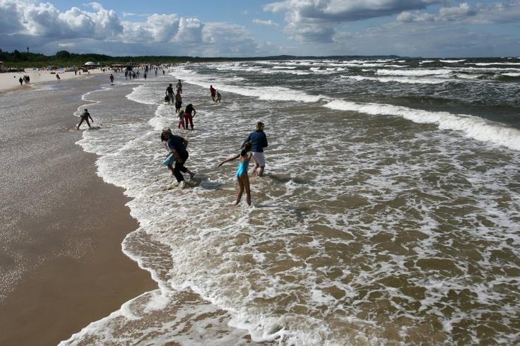 Morze Bałtyckie, Świnoujście, Poland