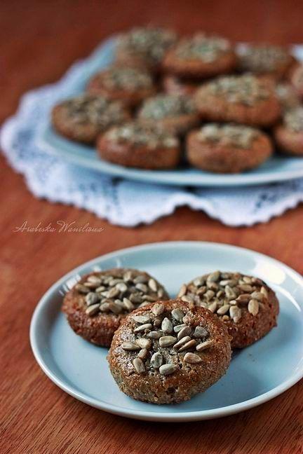 Slonecznikowe ciasteczka 3 skladnikowe1