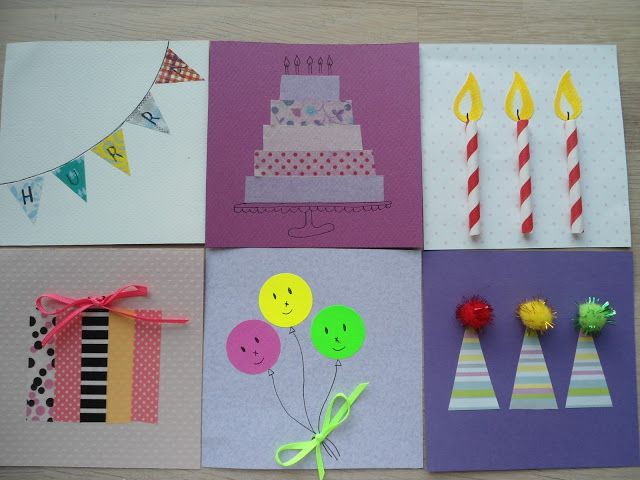 Doc Birthday Cards Kids Can Make Homemade Cards for Kids to – Easy to Make Birthday Cards