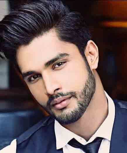 Rohit Khandelwal. His hair, eyebrows, moustache and beard.