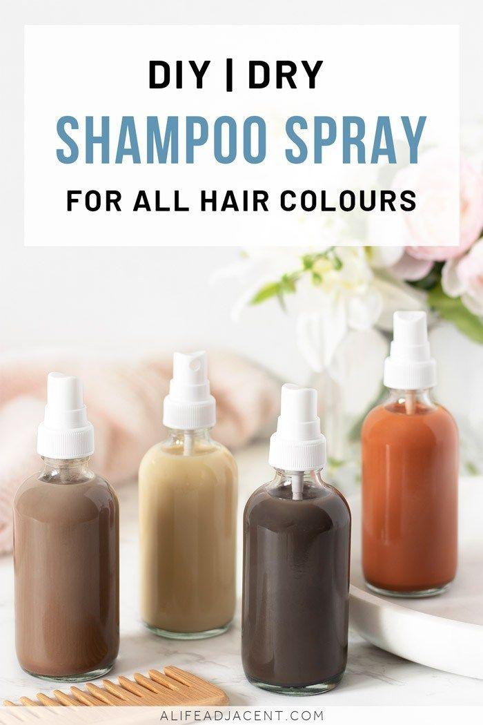 Diy Dry Shampoo Spray Micellar Formula Recipe Diy Dry Shampoo Dry Shampoo Homemade Dry Shampoo
