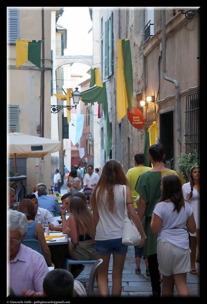Strolling in Albenga by Giancarlo Gallo
