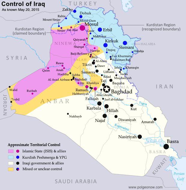Die besten 25 Iraq map Ideen auf Pinterest