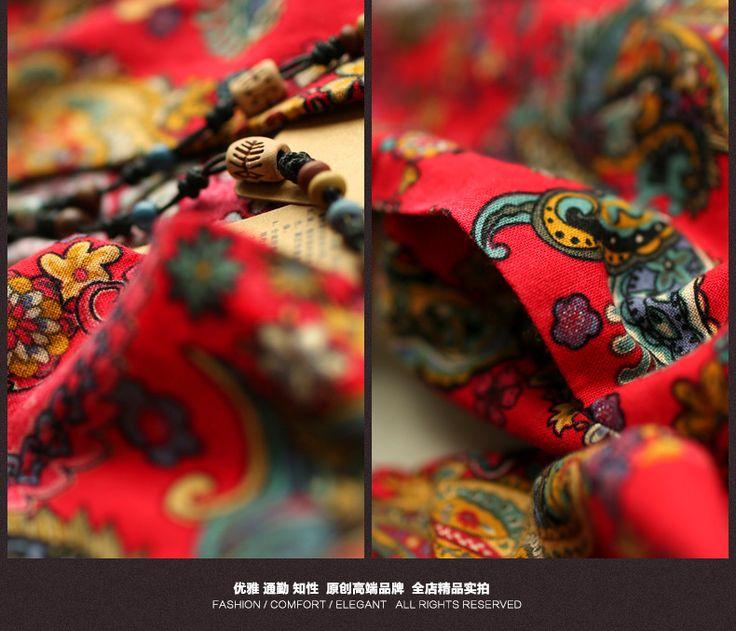 Хлопок Белье Женщина Пальто Мода Длинные Стиль Весна Осень Китайский Винтаж Куртка Полный Рукав Китайский Ветер Ретро Длинные Дамы Пальто купить на AliExpress