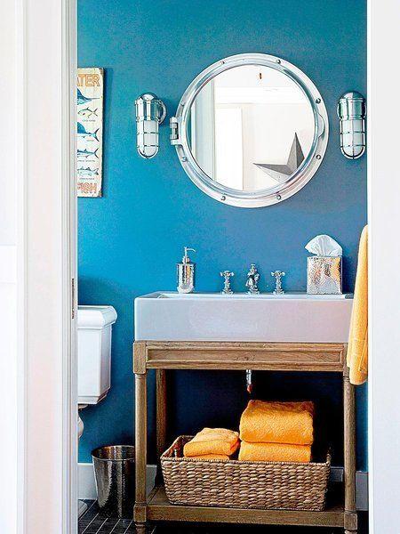 Colores para el cuarto de baño: Azul claro