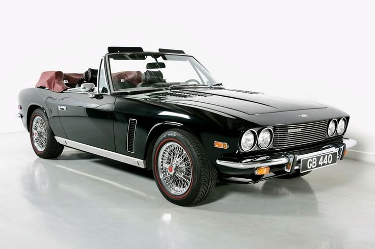 1975 - Jensen Interceptor Convertible.