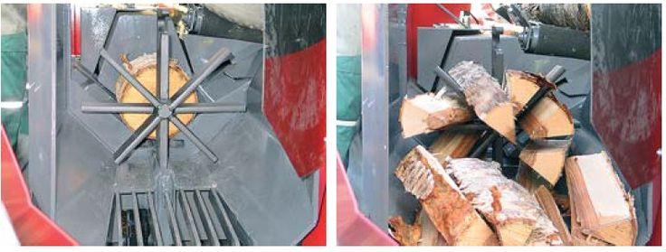 KENOBI SRL - Despicator lemn de foc Palax Power 100S, firewood splitter