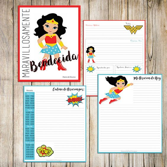 Maravillosamente Bendecida Diario de Oracion by HeavenlyPrincessbout on Etsy