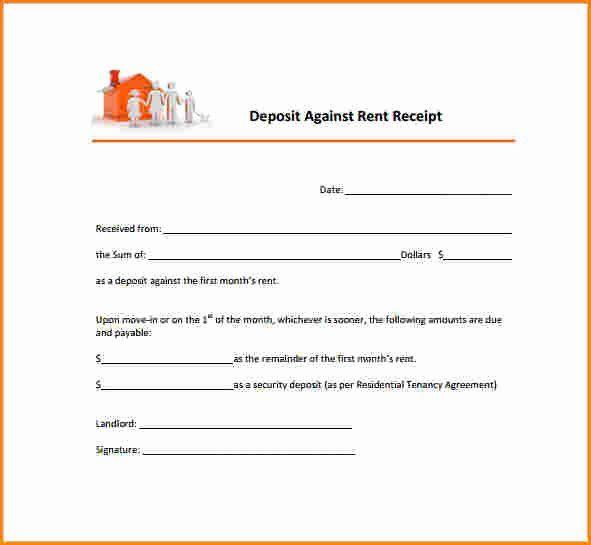 Landlord Rent Receipt Template Elegant 6 Landlord Rent Receipt Receipt Template Templates Being A Landlord