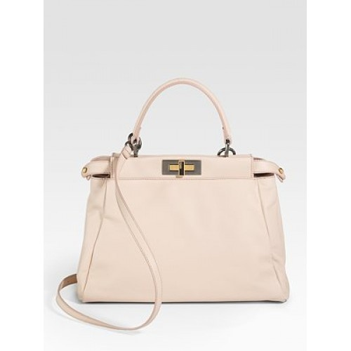 Fendi Is One Of My Favorite Handbag Designers This Bag A Wonderful Pastel Pink Just Hint Color On Beautiful Leather