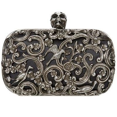 I think I just fell in love again. Alexander McQueen Box Clutch.