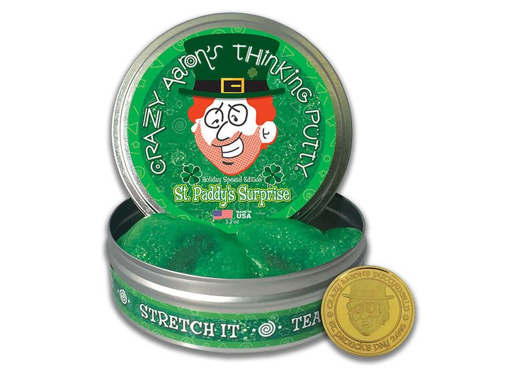 Crazy Aaron's Thinking Putty - St Paddy's Surprise - Yutopia