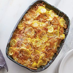 Yellow Squash Casserole: Casseroles Recipes, French Fried Onions, Food, Thanksgiving Side Dishes, Squashes, Squash Casseroles, Veggie, Casserole Recipes, Thanksgiving Sides