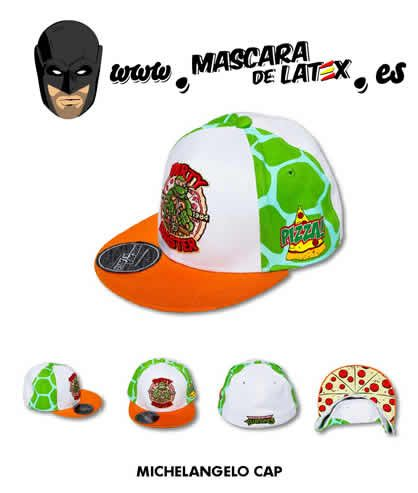 Michelangelo Cap | www.MascaraDeLatex.ES