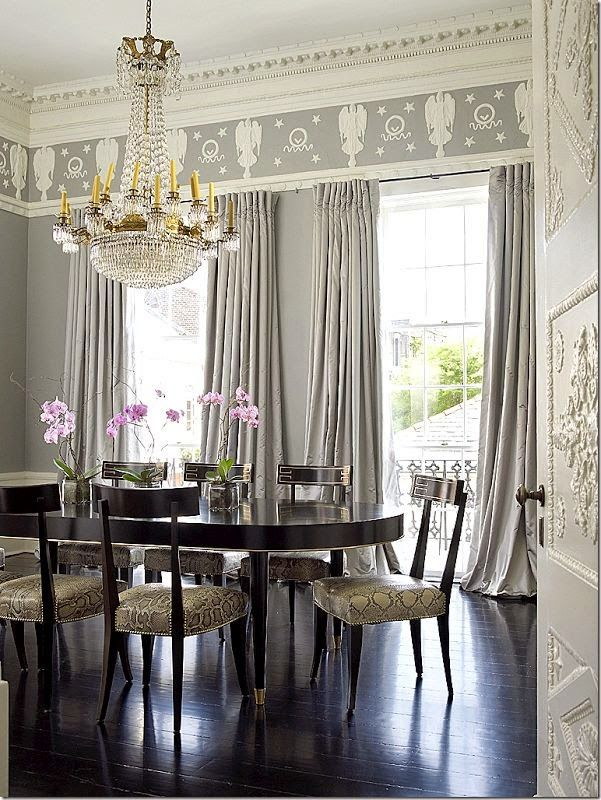 South shore decorating blog serious eye candy beautiful for Beautiful dining rooms