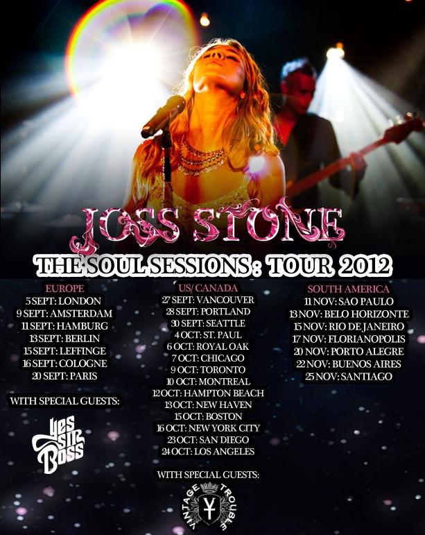 Joss Stone Tour 2012