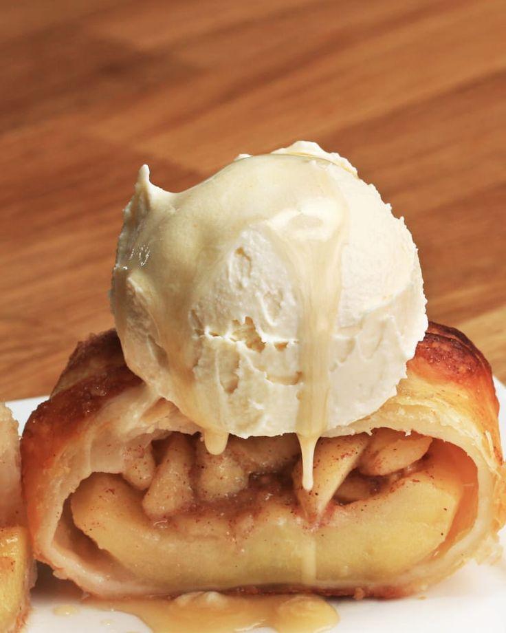 Baked Apple Pie Dumplings