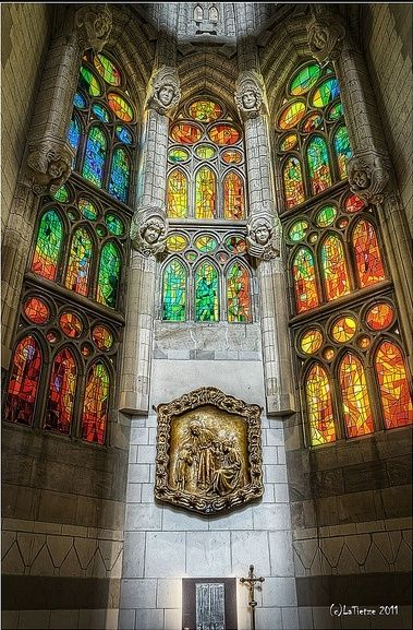 Sagrada Família ,Barcelona, Spain | See More Pictures | #SeeMorePictures                                                                                                                                                                                 More