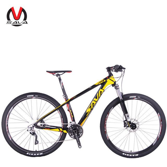 "SAVA DECK300 30 Speed Carbon Fiber T700 MTB Mountain Bike 29"" Ultralight Bicycle Cycle M610 Derailleur & Hydraulic Brake Brand"