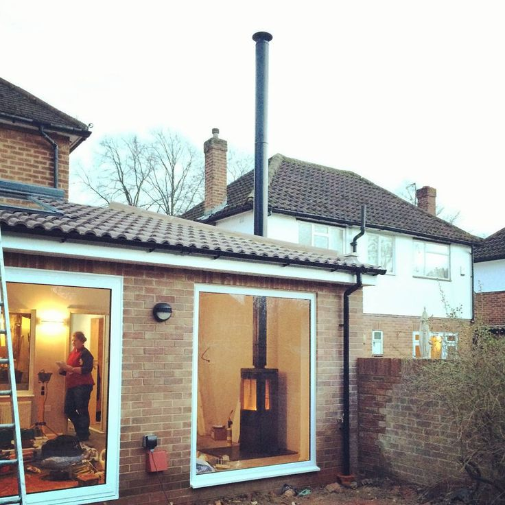 Roof flue chimney braces required over five feet flue for Close chimney flue