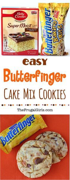 Easy cookie or cake recipes