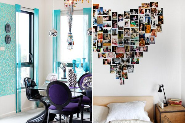 The photo collage makes me miss my college apartment. Sigh.