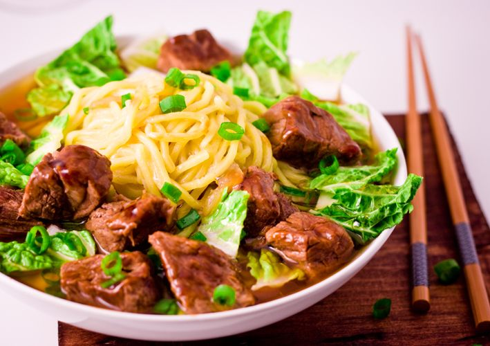 Beef Mami (Beef Noodle Soup)