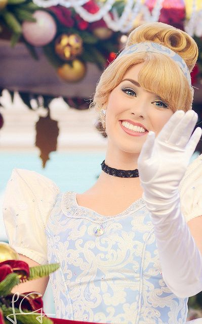 "ileftmyheartatdisneyland: ""Cinderella on Flickr. """