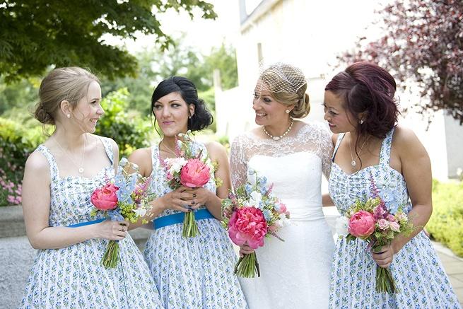 floral bridesmaids!