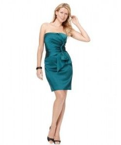 vestidos verde azulado cortos 3
