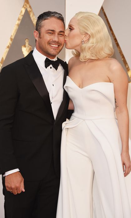 Taylor Kinney and Lady Gaga.