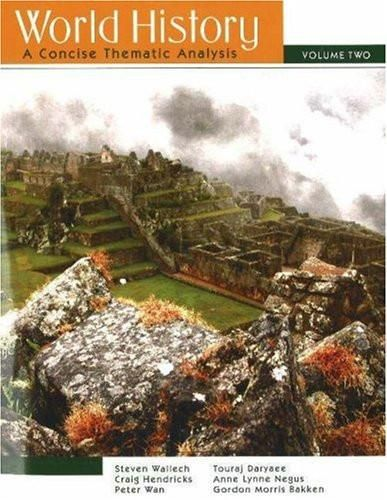 World History: A Concise Thematic Analysis(Vol. 2)
