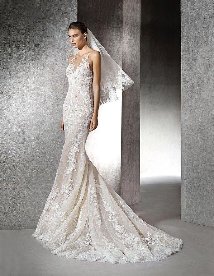 Zada, mermaid wedding dress, sweetheart neckline