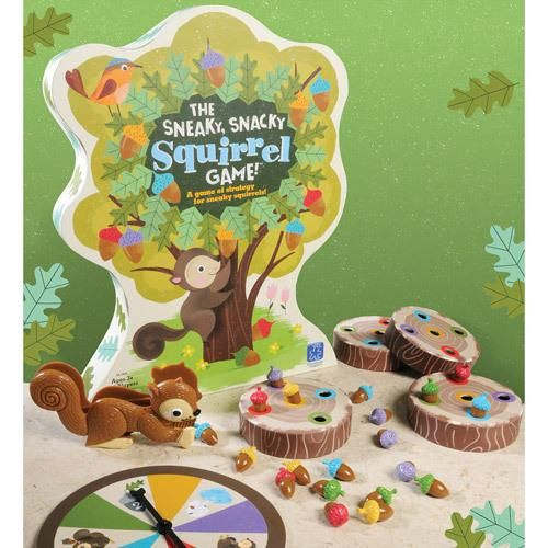 A squirrely board game for the kids.