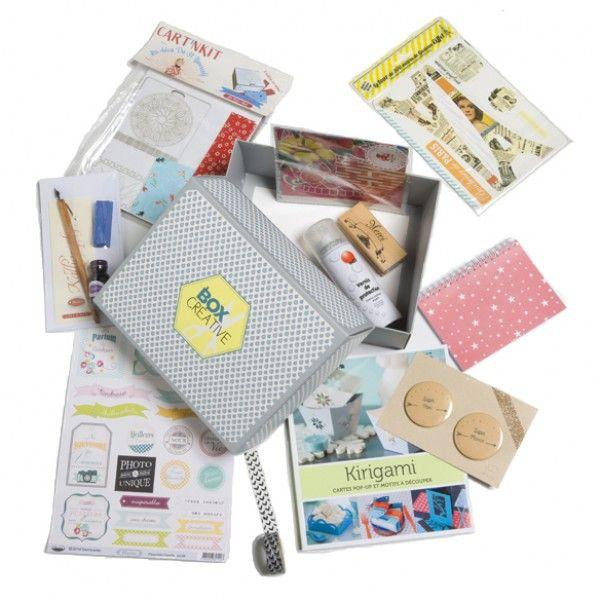 La nouvelle box Marie Claire Idées autour du papier et du carton !