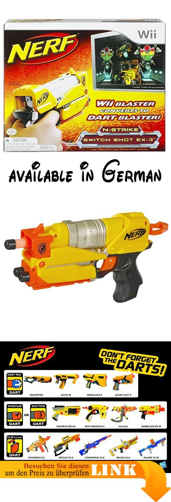 Nerf N-Strike Switch Shot EX-3m (Nintendo Wii) [Import UK]. Spielzeugwaffe #Toy #TOYS_AND_GAMES
