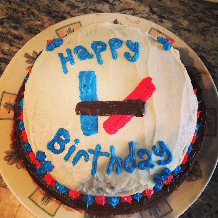 Twenty One Pilots Cake Simple Easy Design Twenty One