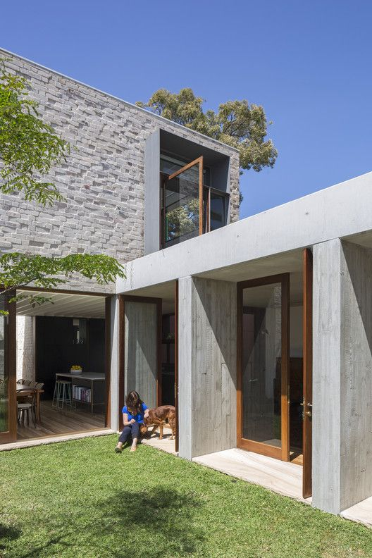Courtyard House,© Tom Ferguson