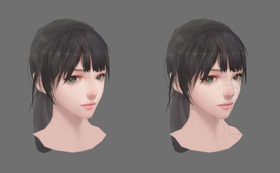 ArtStation - 3D LOW POLY, Sangwook 강: