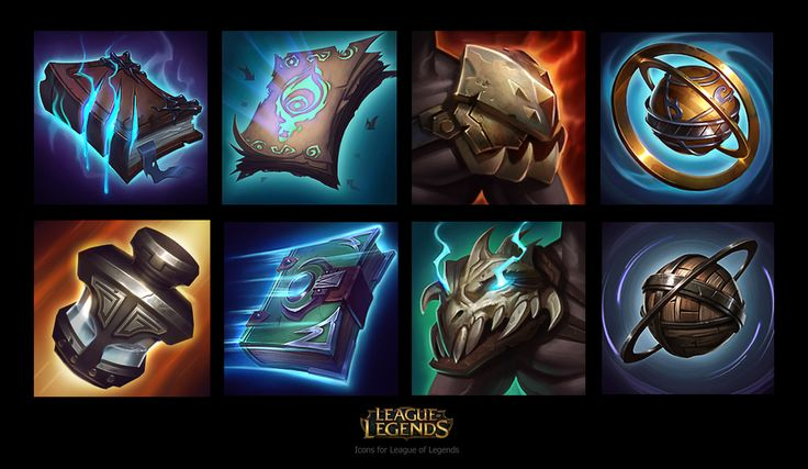 ArtStation - Icons for League of Legends , Jem Flores