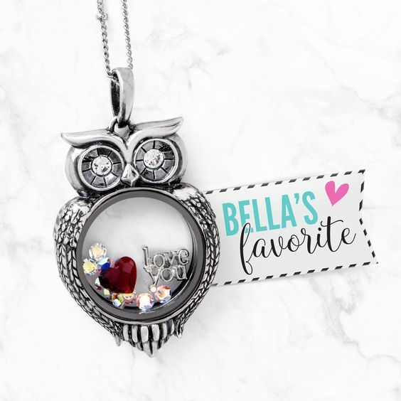Hello Beautiful! New Olive the Owl Locket