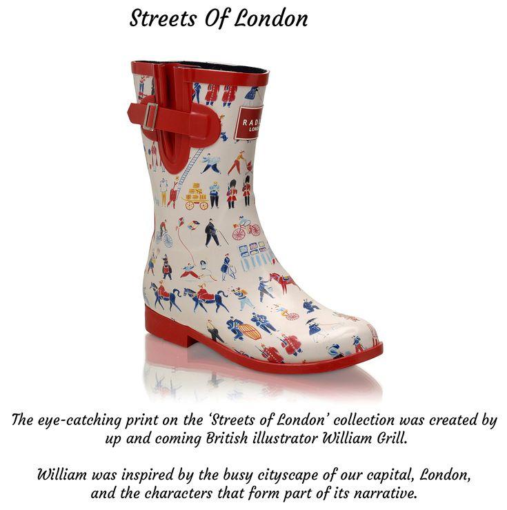 Radley Streets Of London William Grill - Radley wellington boots