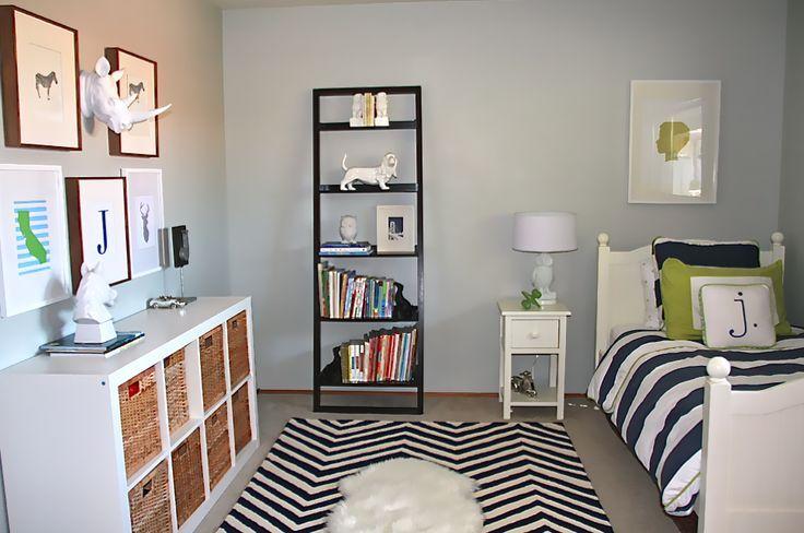 amusing green gray bedroom ideas kids | little boys room navy blue gray | blue/gray walls, navy ...