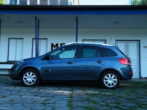 My seventh car: Renault Clio III Grandtour