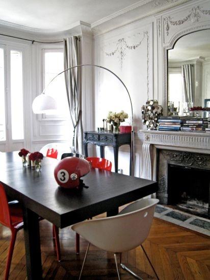 Séjour Haussmannien  - Conception Paris Sweet Home Deco -