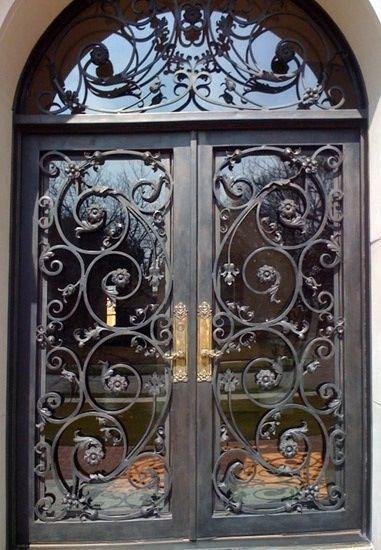 Beautiful Wrought Iron Doors
