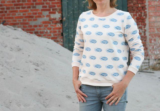 made by Petrol & Mint  sweater  SeeYouAtSix fabric